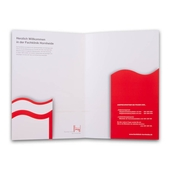 Präsentationsmappe für Kliniken
