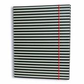 Hardcover 3 Laschenmappen mit Gummizug