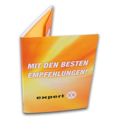 Orangene Expertmappe