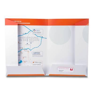 4 Laschen Mappe