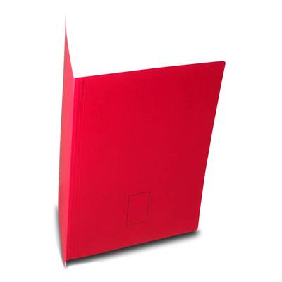 Roter Aktendeckel