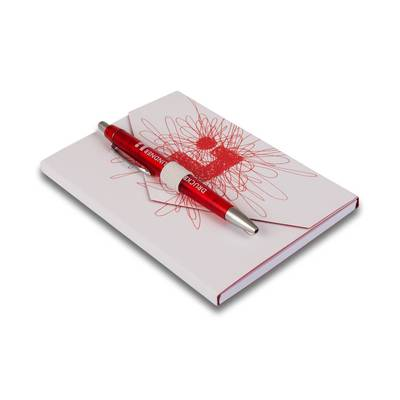 Stifthalterschlaufe weiß als Verschluss