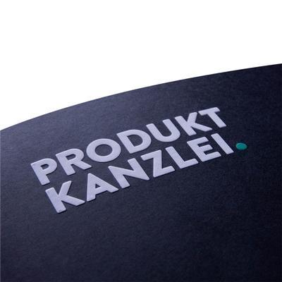Nahaufnahme Produktkanzlei Prägung