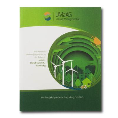 UMaAG Windräder grüne Mappe