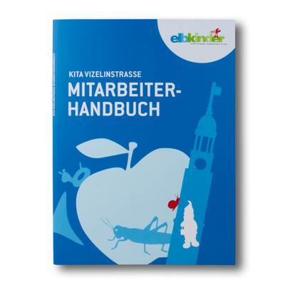 Blaue Kitamappe  Mitarbeiterhandbuch