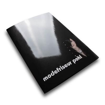 Modefriseur Pohl schwarze Mappe